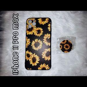 Sunflower IPhone 11 Pro Max case